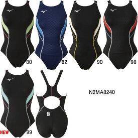 【15%OFF】ミズノ(MIZUNO)女性用 競泳水着 ストリームアクティバ ウイメンズローカット(オープン)N2MA8240