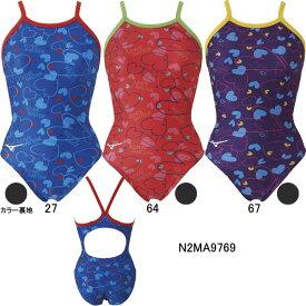 【15%OFF】ミズノ(MIZUNO)女性用トレーニング水着 エクサスーツウイメンズミディアムカット N2MA9769