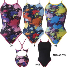【15%OFF】ミズノ(MIZUNO)女性用トレーニング水着 Ri Rikako Ikee Collection エクサスーツウイメンズミディアムカット N2MA0265