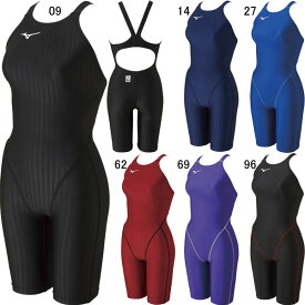【15%OFF】ミズノ(MIZUNO)女性用 競泳水着 STREAM ACE ウイメンズハーフスーツ(レースオープンバック) N2MG0222