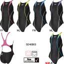 スピード(SPEEDO)女性用 競泳水着 FLEX Cube ウイメンズエイムカットスーツ SD46B03