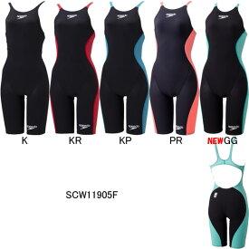 【15%OFF】スピード(SPEEDO)女性用 競泳水着 S・Drake(エス・ドレーク)ウイメンズニースキン SCW11905F