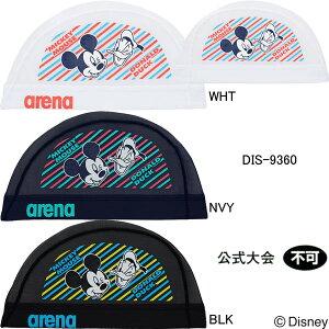 【20%OFF】アリーナ(ARENA)ディズニー(ミッキー・ドナルド)メッシュスイムキャップ DIS-9360