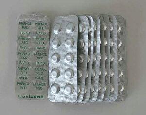 ロビボンド(Lovibond)フェノールレッド(Rapid)錠剤 (pH用)250錠箱 LB-FR
