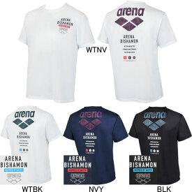 【10%OFF】アリーナ(ARENA) BISHAMON メンズTシャツ AMUQJA52