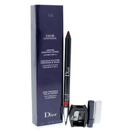 【正規品】【送料無料】Christian DiorDior Contour Lip Liner Pencil - # 758 Sophisticated Matte0.04ozディオール輪郭リップライナーペンシル - #758洗練されたマット【海外直送】