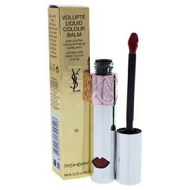 【正規品】【送料無料】【Yves Saint Laurent】Volupte Liquid Colour Balm - 10 Devour Me Plum0.2ozVolupte液体色バーム - 10食いミープラム【女性】【海外直送】