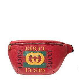 グッチ GUCCI ポーチ 530412 0GDCT 6463 カーフスキン レッド