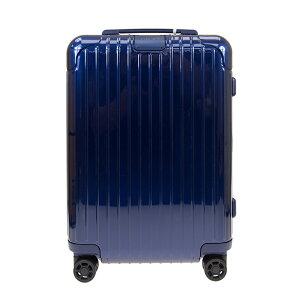 リモワ RIMOWA スーツケース エッセンシャル キャビン S 34L ESSENTIAL Cabin S 83252604 グロスブルー ポリカーボネート