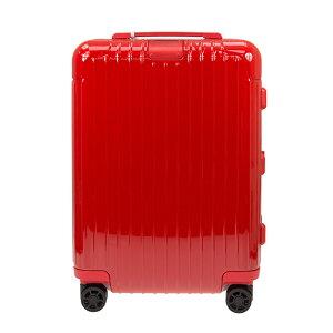 リモワ RIMOWA スーツケース エッセンシャル キャビン S 34L ESSENTIAL Cabin S 83252654 グロスレッド ポリカーボネート