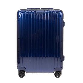 リモワ RIMOWA スーツケース エッセンシャル キャビン 36L ESSENTIAL Cabin 83253604 グロスブルー ポリカーボネート