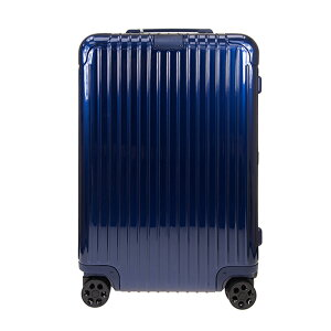 リモワ RIMOWA スーツケース エッセンシャル チェックイン M 60L ESSENTIA Check-In M 83263604 グロスブルー ポリカーボネート