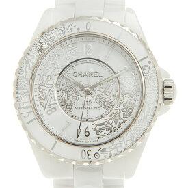 シャネル CHANEL J12-20 H6476 ホワイトセラミック 自動巻き 38mm 世界限定2020本 腕時計