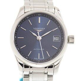 ロンジン LONGINES マスターコレクション L2.128.4.92.6 ステンレス ブルー サンレイ 自動巻き 25.5mm レディース腕時計