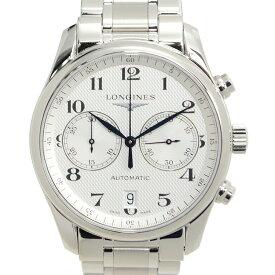 ロンジン LONGINES マスターコレクション L2.629.4.78.6 2カウンター クロノグラフ ステンレス シルバー バーリーコーン 自動巻き 40mm メンズ腕時計