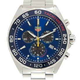タグ・ホイヤー TAG HEUER フォーミュラ1 クロノグラフ CAZ101AB.BA0842 アストンマーティン スペシャルエディション ステンレス ブルー文字盤 クォーツ 43mm メンズ腕時計 レッドブル・レーシング限定