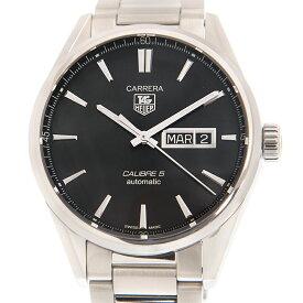 タグ・ホイヤー TAG HEUER カレラ WAR201A.BA0723 キャリバー5 デイデイト ブラック 41mm 自動巻き メンズ腕時計