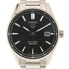 タグ・ホイヤー TAG HEUER カレラ WAR211A.BA0782 キャリバー5 ブラック 39mm 自動巻き メンズ腕時計