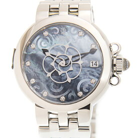TUDOR チューダー(チュードル) クレア ド ローズ 35700-65770-NC10DI-BL 10Pダイヤ ステンレス ブルーマザーオブパール 自動巻き 34mm レディース腕時計