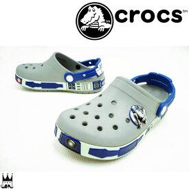 【あす楽】クロックス crocs スターウォーズ キッズ サンダル 16277 Star Wars R2D2 男の子 靴 蓄光 evid /-