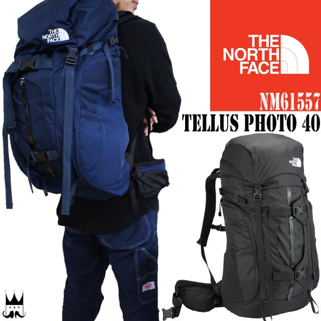 【お得なクーポン11/23限定】ザ・ノースフェイス THE NORTH FACE メンズ レディース NM61557 テルスフォト40 40L カメラマン カメラバッグ アウトドア トラベルバッグ デジカメ 一眼レフ evid