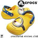 【あす楽】クロックス crocs 男の子 女の子 子供靴 キッズ ジュニア クロッグサンダル 204113-730 ファンラブ ミニオ…