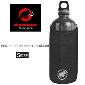 【あす楽】マムート MAMMUT メンズ レディース ボトルホルダー 2530-00150 ブラック 0001 Sサイズ 111 evid【s】