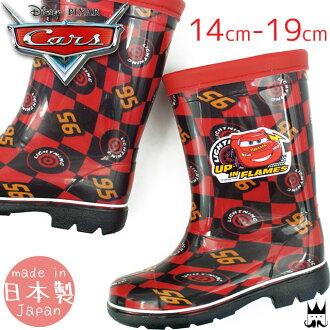 14-19 cm moonstar romp C62 cars rain boots red (RED) Moonstar Disney Cars lightning-mccuen boys rain boots kids-length rubber boots shoes.