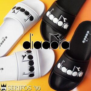 【あす楽】【あす楽】ディアドラ DIADORA セリフォス '90 メンズ レディース シャワーサンダル 173880 SERIFOS'90 シャワサン コンフォートサンダル スライド カジュアル 0013 ブラック 0006 ホワイ