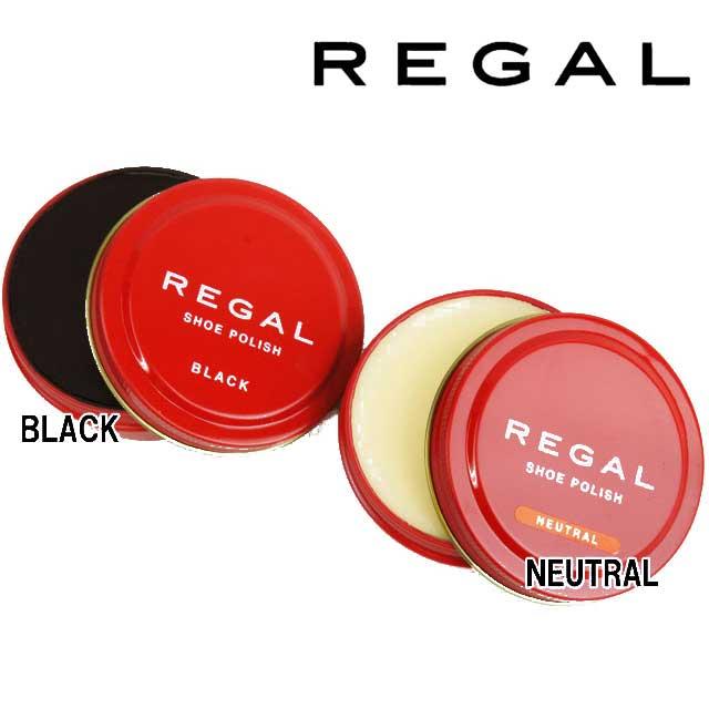リーガル TY16 シューポリッシュ(缶) 50g REGAL SHOE POLISH NEUTRAL・BLACK アフターケア シューケアケア用品 ツヤ革靴用ツヤ出しクリーム 保護