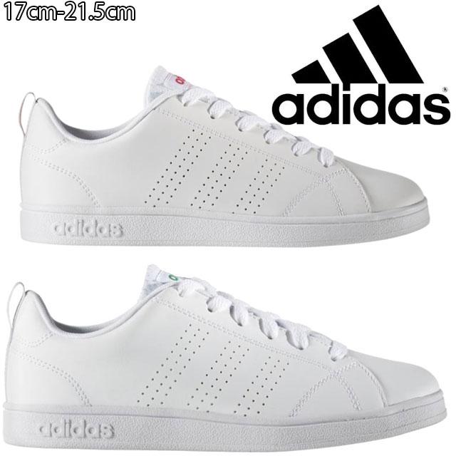 【あす楽】アディダス adidas スニーカー 男の子 女の子 子供靴 キッズ ジュニア BB9976 AW4884 バルクリーン2 K ローカット 運動靴 カジュアル 白靴 evid