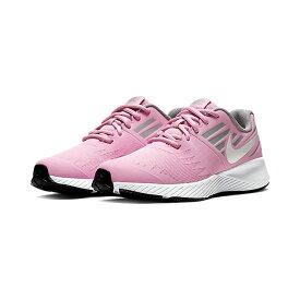 【あす楽】ナイキ NIKE スターランナー (GS) スニーカー 女の子 子供靴 キッズ ジュニア レディース 907257 ローカット 紐靴 運動靴 ブラック ピンク evid qq2