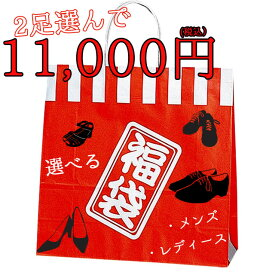 【送料無料】≪選べる10000円福袋チケット≫ メンズカジュアルシューズ・ブーツ・レディース サンダル・パンプス等が 2足で10000円 福袋 デザインサイズが自由に選べます 返品交換不可