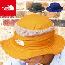 【あす楽】ザ・ノースフェイス THE NORTH FACE 帽子 メンズ レディース NN01806 ブリマーハット トレッキングハット UVカット アウトドア フェス キャンプ 紫外線対策 日よけ あご紐 メッシュ アパレル ゴールド ブルー グリーン evid