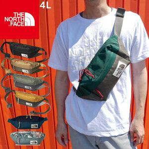 【あす楽】ザ・ノースフェイス THE NORTH FACE バッグ メンズ レディース NM71954 ランバーパック ウエストポーチ ボディバッグ ウエストバッグ ピップバッグ 斜め掛け バッグ アウトドア 4L ブラ