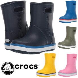 【あす楽】クロックス crocs レインシューズ 男の子 女の子 子供靴 キッズ ジュニア 205827 クロックバンド レインブーツ k 子供靴 長靴 evid /-