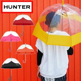 【あす楽】ハンター HUNTER 傘 かさ メンズ レディース UAU1004UPM スケルトンバブル バブル アンブレラ RAIN 雨 梅雨 レイン 雨具 evid /-