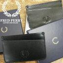【あす楽】フレッドペリー FRED PERRY カードケース レザーカードホルダー 【送料無料】(一部地域除く) メンズ レデ…