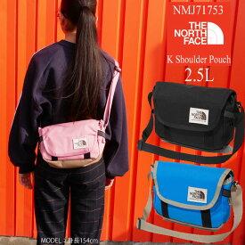 【あす楽】【送料無料】ザ・ノースフェイス THE NORTH FACE バッグ 2.5L キッズ ジュニア NMJ71753 ショルダーポーチ 男の子 女の子 メッセンジャーバッグ ショルダーバッグ evid /- |5