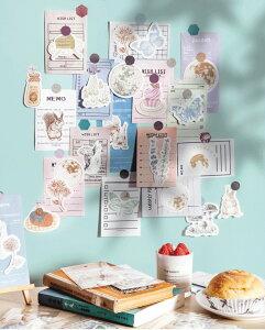 海外製 紙ものセット (k2) お花 蝶々 きのこ ユーカリ リス ウサギ 小動物 植物 月 コラージュ デコ 素材 手描き風 花 ブーケ ちょうちょ おしゃれ ナチュラル ジャンクジャーナル おすそ分け