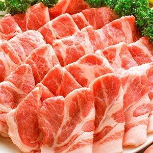 【 訳あり 】 豚肩ロース 厚切り スライス 3kg ( 数量限定 ) 500g×6パック 【 豚肉 生姜焼き しょうが 炒め物 肩ロース ロース 冷凍 小分け 便利 】送料無料
