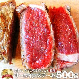 お歳暮 ギフト 御歳暮 肉 サーロイン ステーキ 500g リッチな 赤身 贅沢 プレゼント 牛肉 送料無料 オーストラリア産 買えば買うほど オマケ あす楽 通販 お取り寄せ グルメ 誕生日 牛