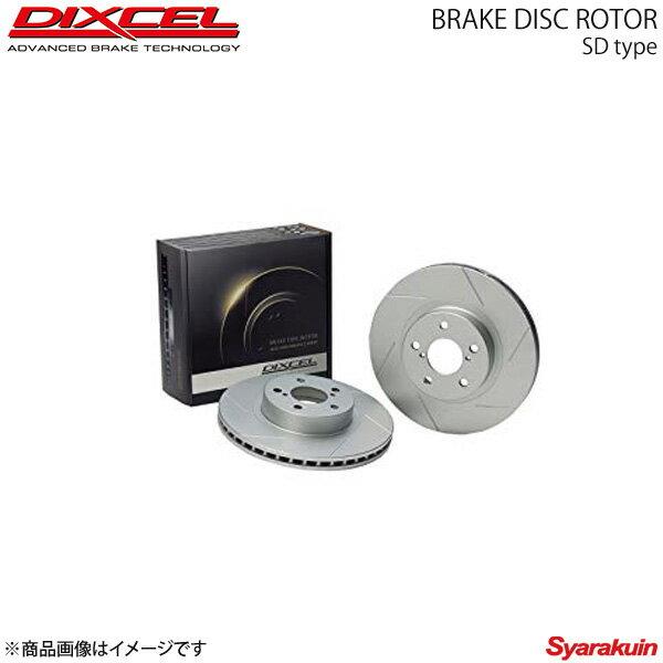 ブレーキローター DIXCEL SD フロント エッセ L235S L245S ブレーキローター ディクセル