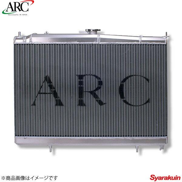 ARC Brazing/エーアールシーブレージング ラジエーター アルミ ランサーエボリューション9 CT9A SMC36 36mm 冷却 1M234-AA023