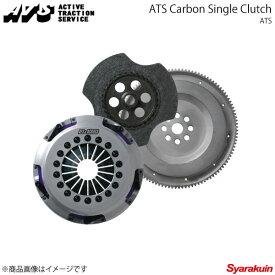 ATS エイティーエス カーボンクラッチ Spec2 シングル 1600kg レガシィB4/レガシィツーリングワゴン BP5/BL5 03.5〜06.4 EJ20T 5MT CS23H132-16S