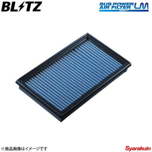 BLITZ エアフィルター SUS POWER AIR FILTER LM レガシィB4 BLE,BL5,BL9 ブリッツ エアフィルター