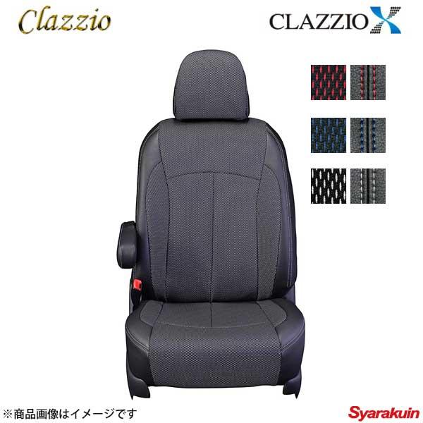 Clazzio クラッツィオ クロス EN-5300 ホワイト×ブラック/ホワイトダブルステッチ リーフ ZAA-ZE0
