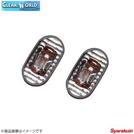 CLEAR WORLD/クリアワールド クリスタルサイドマーカーランプ ジムニー JB23 サイドマーカーランプ SMS-04C
