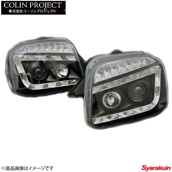 コーリンプロジェクト SHARK / シャーク ヘッドライト カラー: ブラック ジムニー JB23 SHJBJIMY-2L-CB-02