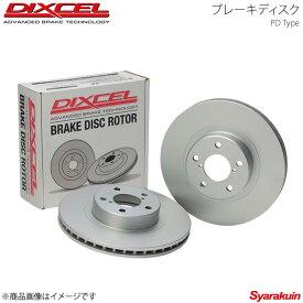 DIXCEL ディクセル ブレーキディスク PDタイプ リア MS-6 GE8P/GEEP/GEFP 91/9〜94/6